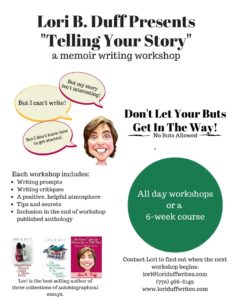 telling-your-story-memoir-writing-workshop-lori-duff