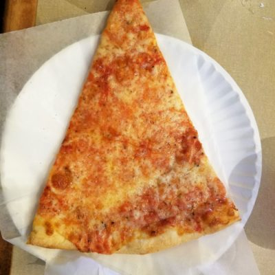 The Perfect Pizza Slice